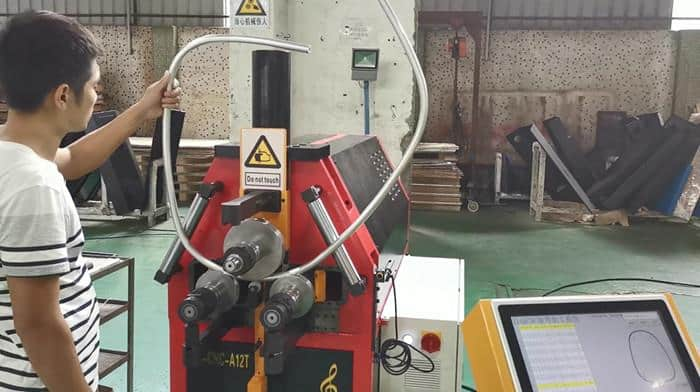 CNC roll bender machine for stainless steel aluminum copper