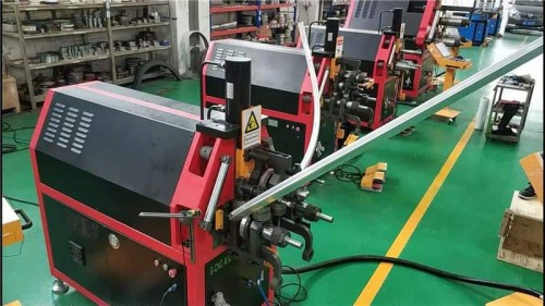 3D CNC aluminum profile roll bending machine