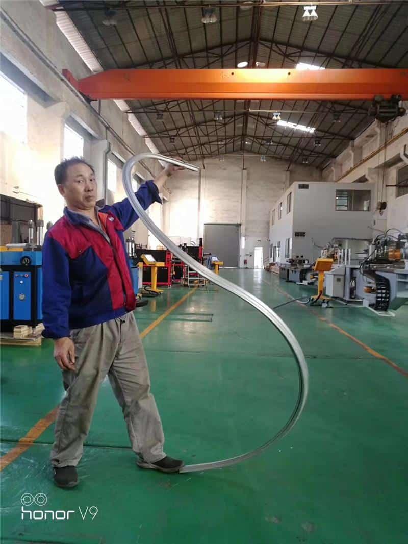 3D CNC aluminum profile bending machine