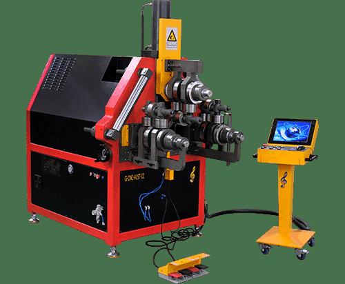 3d CNC Aluminum Profile Roll Bending Machine