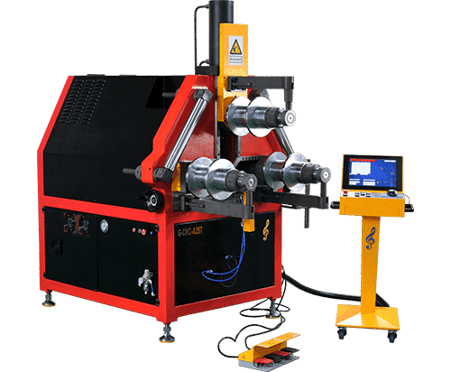 CNC roll bender machine for pipe tube profile