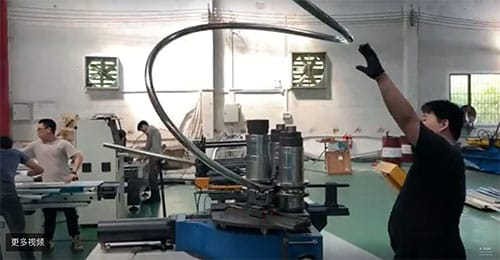 Tube Bender for stainless steel Chinese company