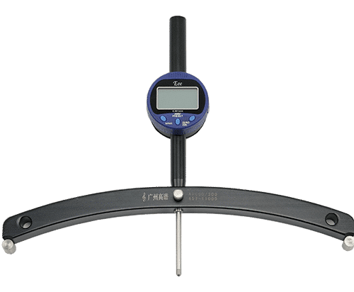 Digital Radius Gauge | Arc Meter Instruction