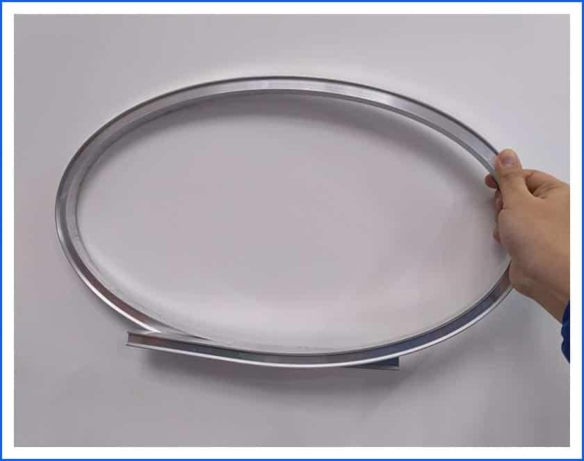 furniture profile roll bending machine