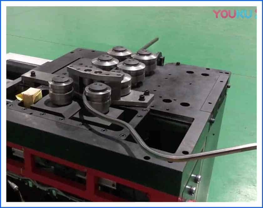 stainless steel roll bending machine