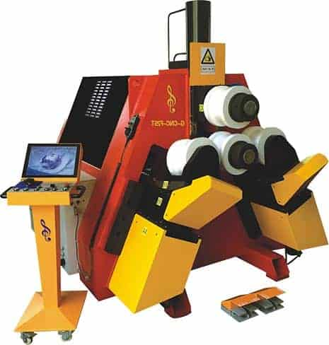 Profile and Tube Roll Bending Machine