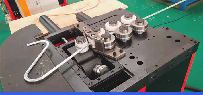 aluminum profile roll bending machine