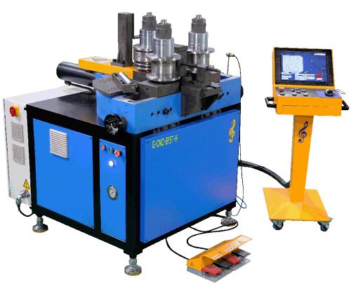 3 Roller Bending Machine Manufacturer for aluminum profile section